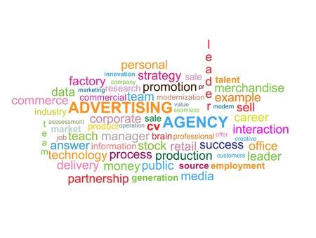 Advertising Agency Word Cloud
