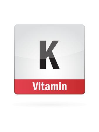Vitamin K Symbol Illustration