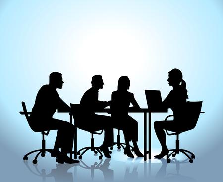 Foto de Team meeting - Imagen libre de derechos