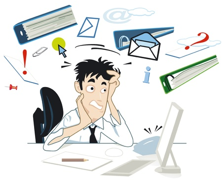 Stress at your desk