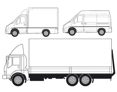Foto de Trucks and Delivery Vans - Imagen libre de derechos