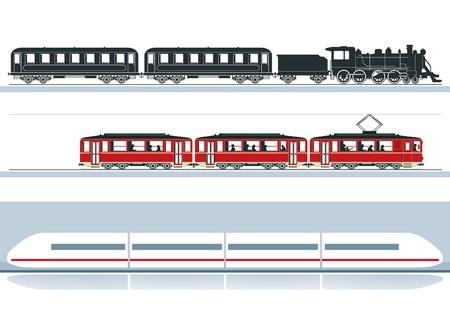 three railroads