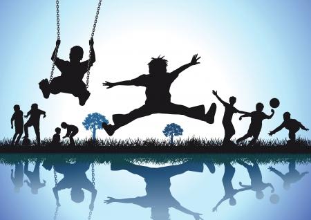 Illustration pour Play and pleasure - image libre de droit