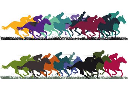 Ilustración de Horse Racing - Imagen libre de derechos