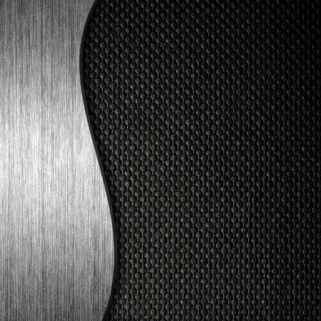 Texture metal and fabric material template background