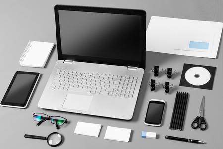 Photo pour Responsive Web Design Brand Branding Template Designers - Stock Image - image libre de droit