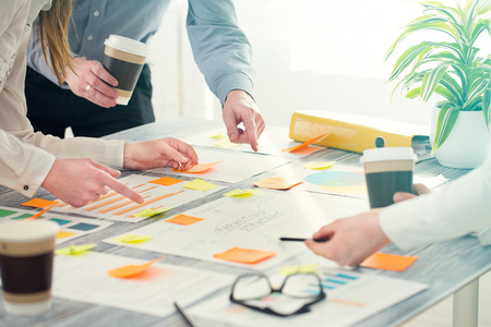 Photo for Brainstorming Brainstorm Business People Design Planning - Royalty Free Image