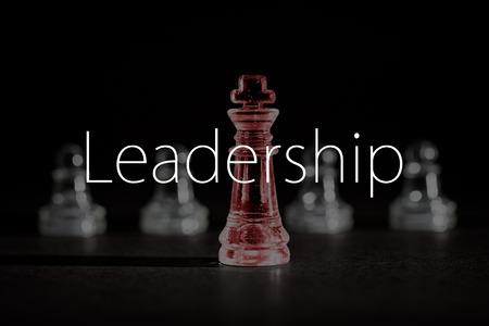 Photo pour Chess business success, leadership concept. - image libre de droit