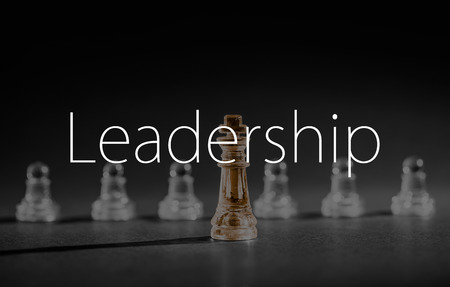 Photo pour Chess business success, leadership concept. - image libre de droit