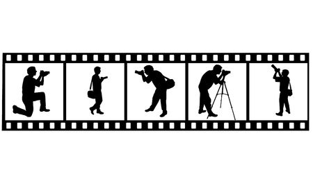 the Photographer's silhouette