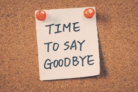 Time to say goodbye: Lizenzfreie Bilder und Fotos