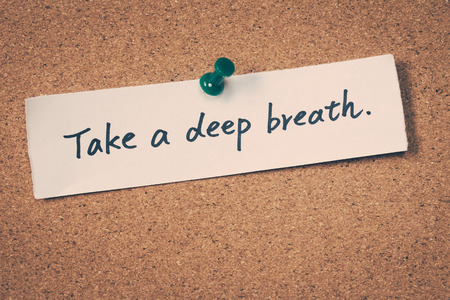Photo for Take a deep breath - Royalty Free Image