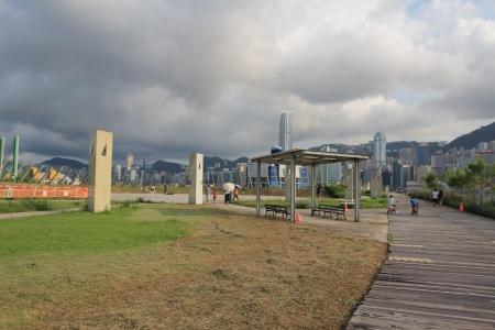 west kowloon promenade