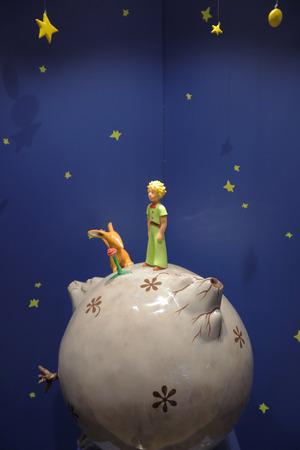 Photo pour Monument Little Prince from the story Le Petit Prince - image libre de droit