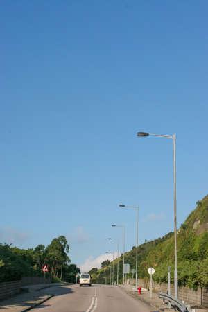 Foto de 24 July 2005 O King Road at the hong kong - Imagen libre de derechos