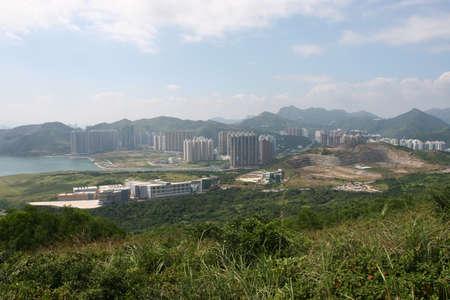 Foto de 11 Oct 2005 view of Tseung Kwan O Industrial Estate - Imagen libre de derechos