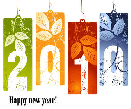 new year concept 2010