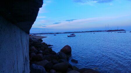 Rocks and blueness