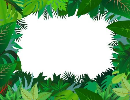 Illustration pour green leaf background - image libre de droit