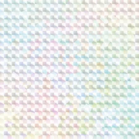 Illustration pour pale rainbow colored hologram sticker - image libre de droit