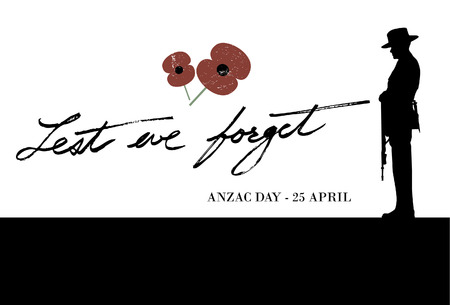 Anzac Day - Soldier pays tribute to fallen soldiers