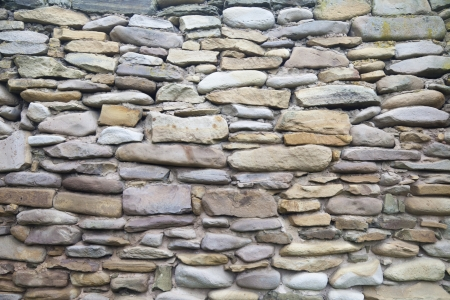Ancient stone wall in an env