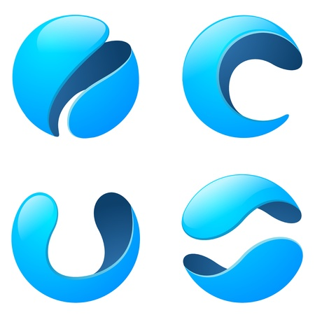 Corporate, Media, Technology, Telecommunication Logo