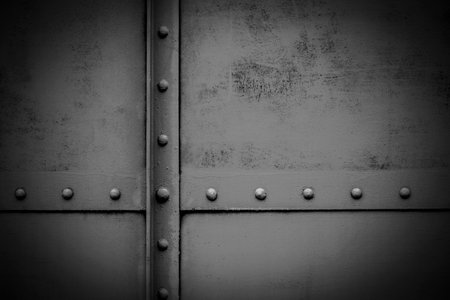 Photo pour old metal plate - background - image libre de droit