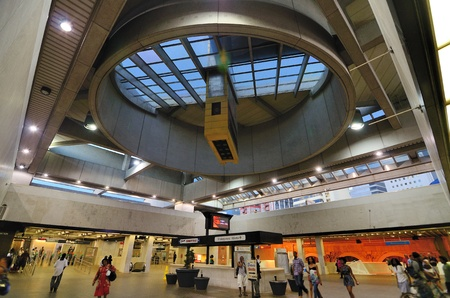 Five Points Station interior, part of Metropolitan Atlanta Rapid Transit Authority in Atlanta, Georgia.