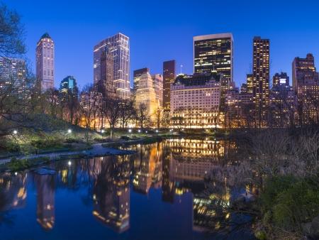 Skyline along Central Park S