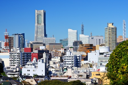 Cityscape of Yokohama, Japan