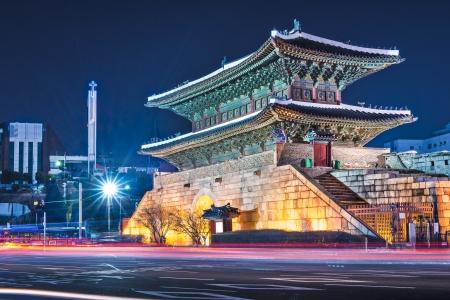 Seoul, South Korea at Namdaemun Gate.