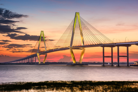Arthur Ravenel Jr. Bridge in Charleston, South Carolina, USA