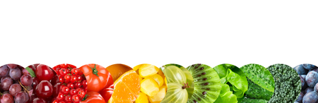 Foto für Fruits and vegetables. Food concept - Lizenzfreies Bild