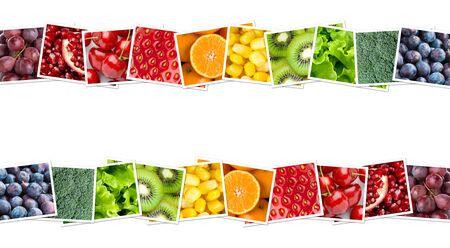 Foto für Fruits and vegetables. Healthy food concept - Lizenzfreies Bild