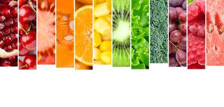 Foto für Fresh fruits and vegetables. Food concept. Fresh food - Lizenzfreies Bild