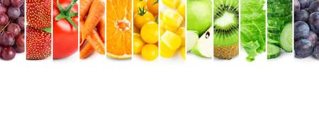 Foto für Fruits and vegetables. Fresh color food - Lizenzfreies Bild