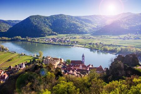 Durnstein, Wachau valley. Austria.