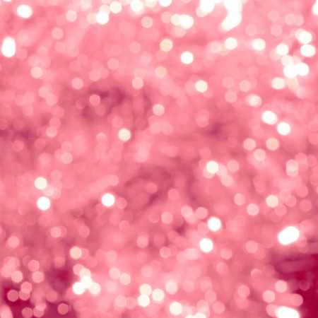 Bright abstract background with pink bokeh