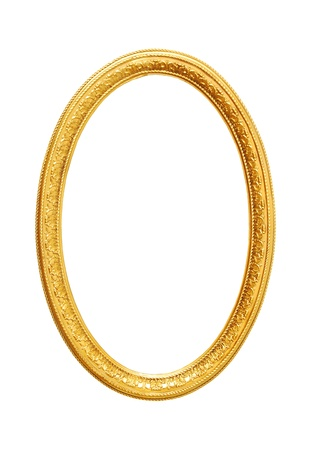 Very good, old gold frame