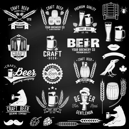 Vintage design for bar, pub and restaurant business.