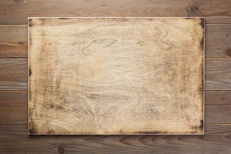 Photo pour Sign board and wooden  texture surface - image libre de droit