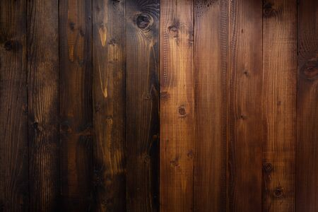 Photo for brown wooden plank board background as texture surface - Royalty Free Image