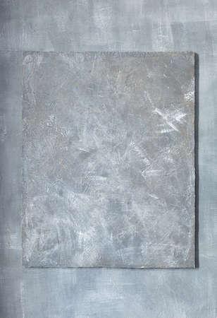 Photo pour grey stone wall concrete surface frame as background texture - image libre de droit