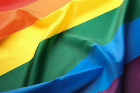 Photo for Rainbow gay flag background - Royalty Free Image