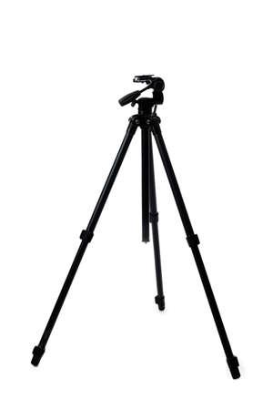 Photo pour Tripod for photo camera on white background - image libre de droit