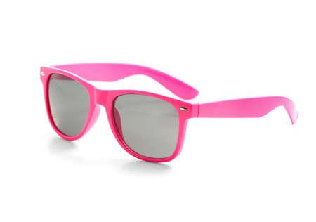 Photo pour Stylish sunglasses on white background - image libre de droit