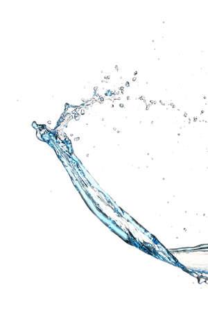 Photo pour Splash of water on white background - image libre de droit