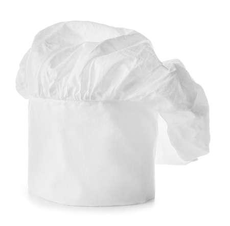 Photo pour Chef's hat on white background - image libre de droit