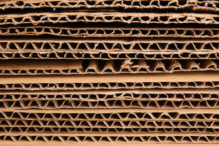 Photo for Texture of cardboard paper, closeup - Royalty Free Image